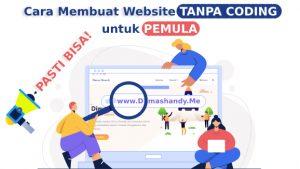 Cara Membuat Website Tanpa Coding