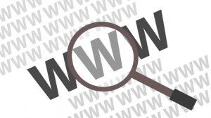 Gambar Ilustrasi Domain Website WWW